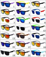 achat en gros de lunettes de mode unisexe-2017 Ken Block Helm lunettes de soleil Marque Designer Spied lunettes de soleil de sport de mode Lunettes de soleil Eyeswearr 21 couleurs unisexe Lunettes