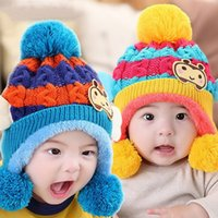 bamboo pile - Baby hats Bee wings cap Cartoon children and pile cap shape