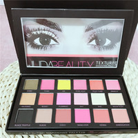 beauty colors - In Stock hot Chrismas Colors Huda Beauty Eyeshadow Rose Gold Textured Pallete Make up Eye shadow Palette