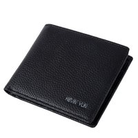Wholesale KEVIN YUN Designer Brand Men Wallet Short Genuine Leather Wallet Slim Pocket Wallet Pusre