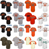 Baseball baltimore sale - Men s Custom name number Baltimore Orioles blank Baseball Jersey Flexbase Collection For Sale stitched size S XL