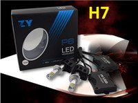 Wholesale New ZY P6 W LM LED Headlight Kit Conversion Canbus Bulbs H4 H7 H11 H13 D2 D1 HB3