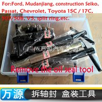 Wholesale Automotive Air Conditioning Compressor Shaft Seal Removal Hand Tools FOR HCC Passat B5 Benz BMW C17C SS9 V5 Chevrolet Compressor Oil S