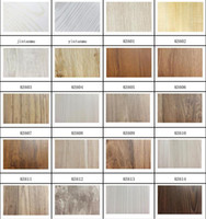 Wholesale D fashion Wooden wallpaper wallcovering rolling paper self adhesive wallpaper film wall art for furniture or room