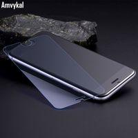 Para el iphone 7 6S SE 5S iphone7 templó el protector de la pantalla de cristal Anti-Azul Luz Prueba de la explosión película clara de la pantalla Alta calidad