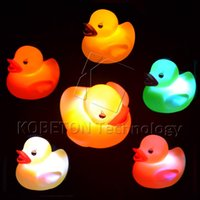 baby shower rubber ducks - Bath Toys Shower Water Floating Squeaky Yellow Rubber Ducks Baby Toys Water Toys Brinquedos For Bathroom New