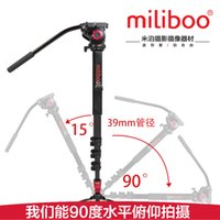 Wholesale miliboo Aluminum Alloy Tripod Monopod with Fluid Head for DSLR Camera and high stability than Manfrotto