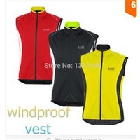 Wholesale 2015 Gores Cycling jersey Bicycle Windproof vest Cycling Clothing Bike Vest Sleeveless roupa ciclismo cycling tight sportwear