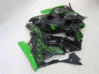 Tres regalo hermoso libre y nuevo ABS de la alta calidad del carenado fijaron para HONDA CBR600 91-94 CBR 600 F2 1991 1992 1993 1994 llama verde negra agradable