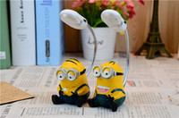 Wholesale Creative night light yellow people night light Home Furnishing cartoon lamp ornaments students birthday gift