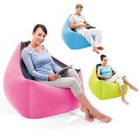 Wholesale Hot Sale Fast Lay bag Air Sofa Chair Portable Intex Modern Air Sofa Set Living Room Furniture Lazy inflatable Sofa Chair