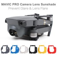 achat en gros de drone cardan-Sunnylife MAVIC PRO Lentille de caméra Sun Hood Pare-soleil Anti-Glare Camera Gimbal Protecteur pour DJI Mavic Pro Drone