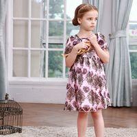 Cheap Spring / Autumn kids clothes Best Knee-Length Cotton,polyester girl dress