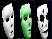 Wholesale Hip Pop mask Jabbawockeez mask white men s and women s mask Street Step Dance Party