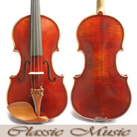 amati violins - Top Hand Oil Varnish The Red Mendelssohn Violin No Warm Sound Amati Model Violin