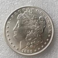 Wholesale New Style Silver CC Morgan Dollar Silver Shiny Cartwheel Copy Coin
