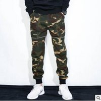 Wholesale mens joggers camouflage pants military jogger streetwear chinos men sweatpants hip hop joggers streetwear camo cargo pants