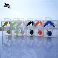 Wholesale Hot Sale Super Soft Silicone Swimming Earplugs Nose Clips Set With Box Waterproof Diving Ear Plugs Sport Swim Accessories
