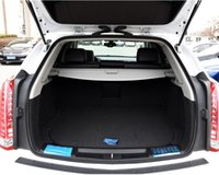 Wholesale Waterproof shockproof PU leather folding car trunk mat For Cadillac SRX