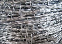 Wholesale Factory Standard Barbed Wire Long Span Life Steel Wire Hgih Quality Galvanized Barbed Wire Netting for Protect Fencing and Industrial Use