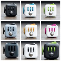 Wholesale Fidget Cube Toy Decompression Anxiety Toys Stress Relief Focus Toys Adults Children Decompression Anxiety Toys Novelty Christmas Gifts D269