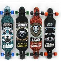 Wholesale 10PCS Canadian Maple Professional Skateboard Road Longboard Skid Resistance Skate Board Wheel Downhill Street Long Board