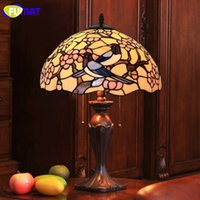 Creative Tiffany Lampe De Table Wintersweet Lampe De Table De Salon Lampe De Table Lampe De Lampe