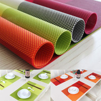 Wholesale High Quality Tableware Placemat Waterproof Placemats Heat insulated Dining Tables Place Mats Pad For Kitchen Tools
