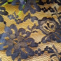Wholesale Black Polyester Fabric Eyelet Crochet Hollow out Lace Fabric Trim for DIY Clothing Wedding Dresses Fabric