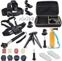 Wholesale Go pro Outdoor sports Camera Accessories Kit Carry Case handheld Monopod for Gopro Hero Session SJ4000 SJ5000 SJ6000