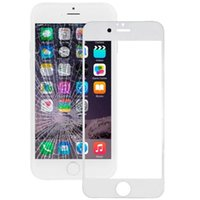 Wholesale 200 Superb quality Front Outer Touch Screen Glass Lens Replacement for iPhone S S Plus shipping via DHL