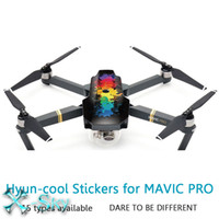 Wholesale DJI Mavic PRO M Waterpoof Wrap Sticker Fuselage Skin Stickers Body Decals Paster Copter Shell for DJI Mavic PRO Quadcopter FPV