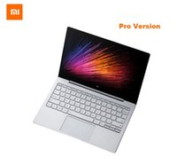 portátil de múltiples pantallas al por mayor-Inglés Xiaomi Mi portátil portátil Air 13 Pro Intel Core i7-6500U CPU 8GB DDR4 RAM Intel GPU pantalla 13.3inch Windows 10 SATA SSD