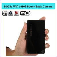 UK 12 hours camera - 16GB memory Wireless Wifi 1080P 4000mAh IP P2P Power Bank Hidden Camera more than 12 hours for video recording can charger mobile phone PQ24