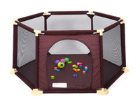 baby playard new - Baby Safe Playpen Portable Folding Play Game Fence New Kids playard Hot Selling Protection Qutdoor And Indoor High Quality Play Game Tent