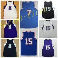 basket material - Cheap Sale Basketball Jerseys Retro Shirt Rev New Material Basket ball Sport Wear With Player Name Team Logo Black Blue White