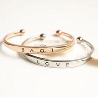 Wholesale Bracelet Bangle for Women Fashion Women Stainless Steel Screw Hand Lover Wedding Cuff Bracelet Bangle