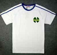 Wholesale Fasion styles Kojiro Hyuga Jersey Sport Uniforms Captain Tsubasa Jerseys ATOM t shirts blue white ATTON jerseys