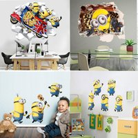american home protection - Despicable Me D Mobile Home Furnishing decorative wall stickers DIY cartoon stickers PVC Waterproof Environmental Protection Wall Stickers