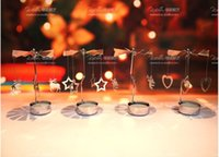 Wholesale Home Garden Home Candle Holders Creative rotating candlestick When to run the candlestick Christmas rotating candle holder