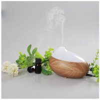 Wholesale CAROLA Aroma Diffuser Newest Essential Oil Diffuser ml Electronic Ultrasonic Aroma Diffuser Fragrance Diffuser For Home light wood