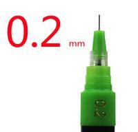 Wholesale mm Professional Engineering pen HERO Rechargeable ink needle pens drawing pen Technical pen