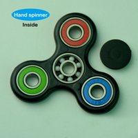 Wholesale Fidget Spinner Hand Spinner Tri Fidget Decompression toy Focus Toy EDC For Killing Time For Kids Adults VS fidget cube