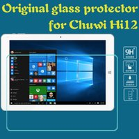 Wholesale Ultra thin HD Clear Premium Tempered Glass Screen protector For Chuwi Hi12 inch Tablet Protective Film