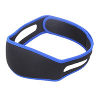 Wholesale Anti Snore Chin Strap Care Sleep Stop Snoring Belt Chin Jaw Supporter Apnea Belt For Men Women Health care Sleeping Products