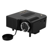 Wholesale hot UC28 Portable LED Projector Cinema Theater PC Laptop VGA USB SD AV HDMI Projector Up to K Hours Life Mini Projector