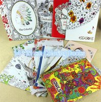 Wholesale New Secret garden series cm coloring books Pictorial painting Adults and children coloring book