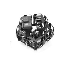 bicycle wheel adapter - CNC Machining Can Mount D VR Gopro Video Rig Panoramic Bicycle Wheel Adapter for Gopro D Rig