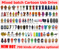 Wholesale High speed USB Flash Memory USB Stick style Cartoon gb gb gb GB Pendrive USB Flash Drive Freeshipping by DHL