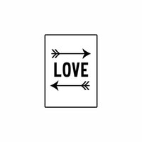 arrow pictures - Painting Modern Europe Black and White Canvas Painting of Love Arrow Digital Decorative Picture for Living Room